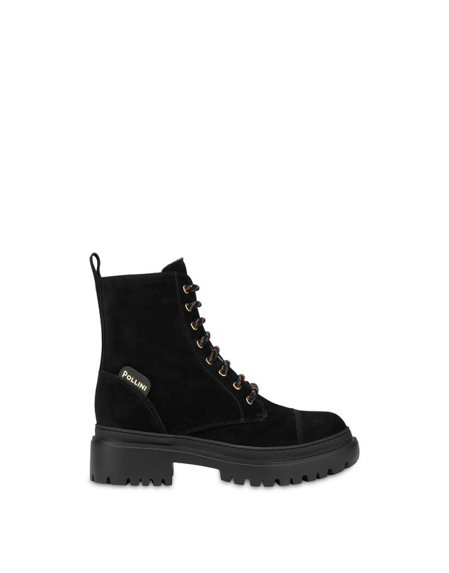 Combat boot in Mountain Forest split leather Photo 1
