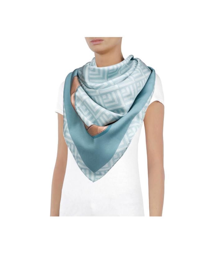 Silk twill scarf Photo 1