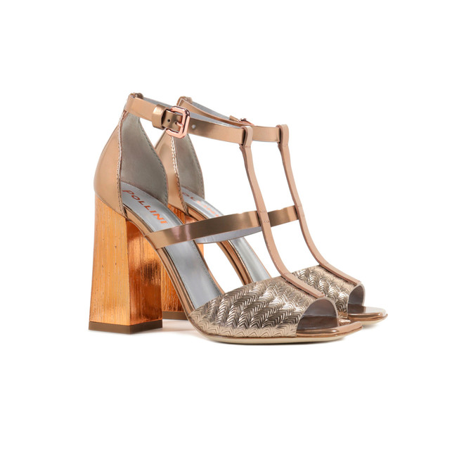 Sandals Copper/copper
