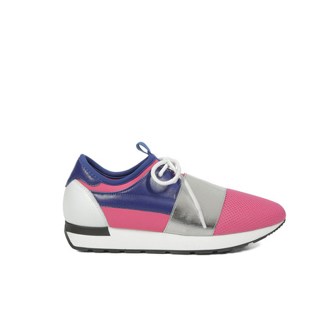 Sneakers Oltremare/bianco/fuxia/fuxia/oltrem