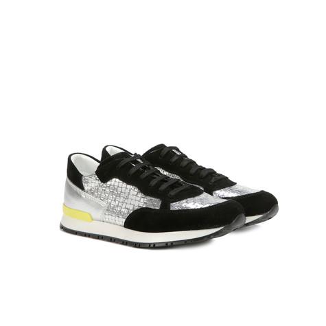 Sneakers Nero/argento/argento