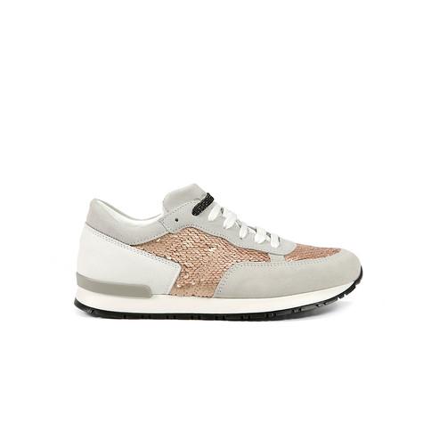 Sneakers Bianco/nude/bianco