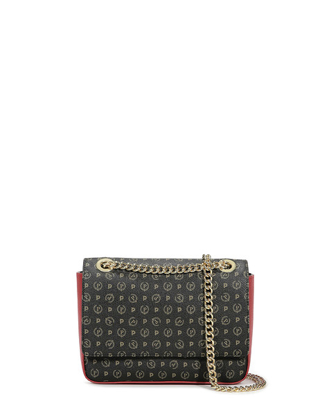 Shoulder bag Black/laky red