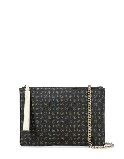 Clutch bag Black/ivory