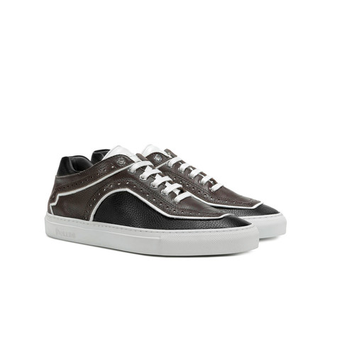 Sneakers Testa di moro/nero/bianco