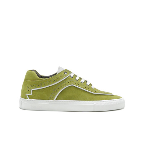 Sneakers Verde scarabeo/bianco