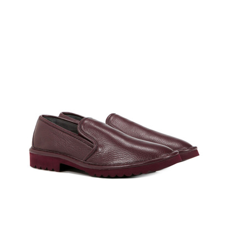 Slip on Bordeaux