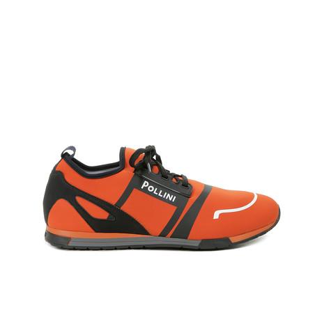 Sneakers Arancio/nero