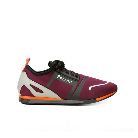 Sneakers Bordeaux/grigio