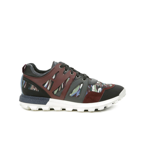 Sneakers Multicolor/bordeaux/grigio/nero/bor
