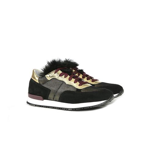 Sneakers Bronzo/nero/bronzo/nero