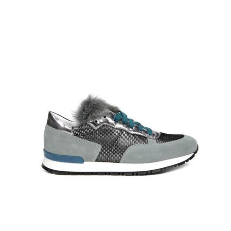 Sneakers Acciaio/lapis/acciaio/pavone