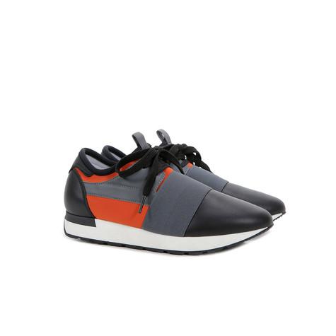 Sneakers Mandarino/nero/nero/lapis/nero