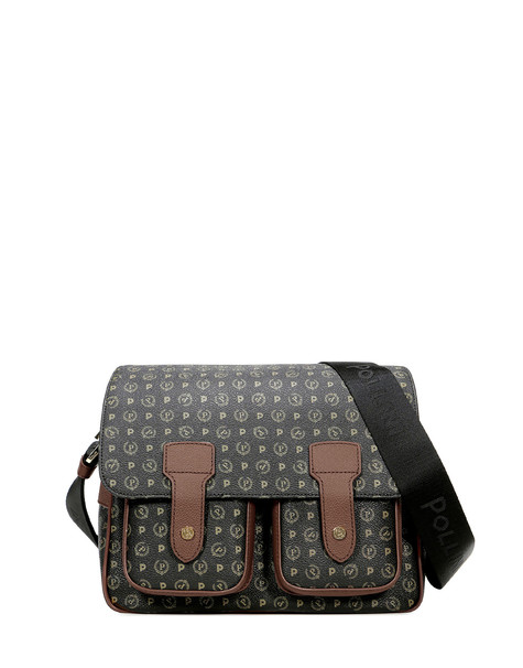 Messenger bag Black/brown