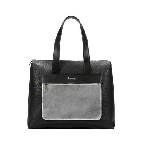 Shopping Nero/argento/nero