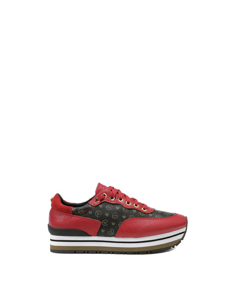 Sneakers Black/laky red