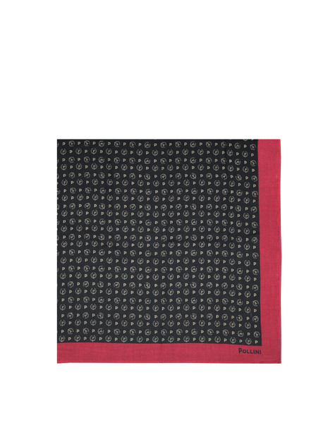 Scarves Black/laky red