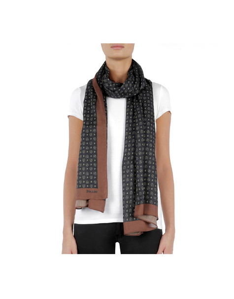 Scarves Black/brown