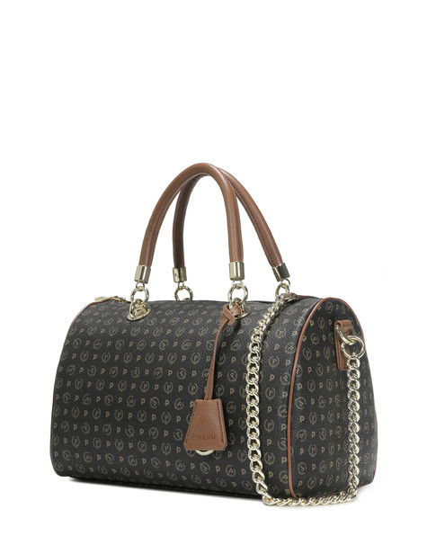 Boston bag Black/brown