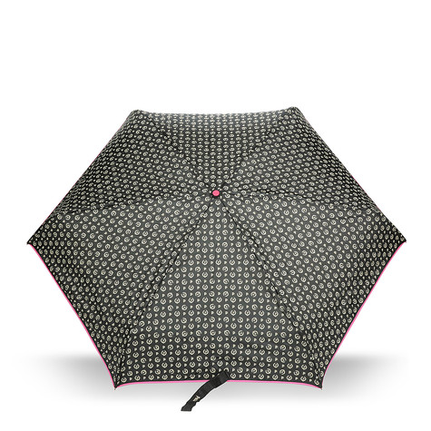 Umbrellas Black/fuchsia