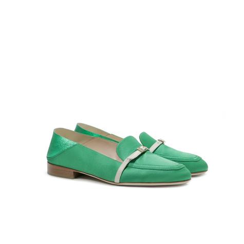 Mocassini Verde/verde