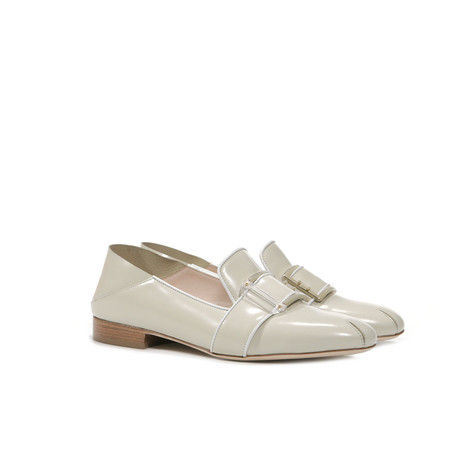 Loafers Pearl/white