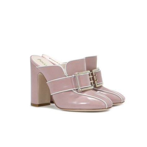 Mules Pink/white