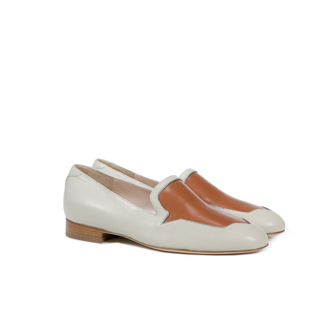 Loafers Pearl/fox/anise