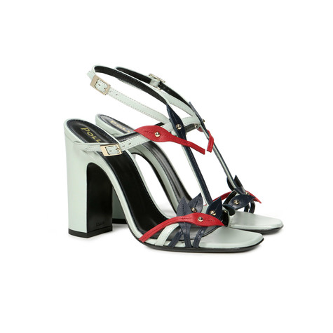 Sandals Anise/night/red