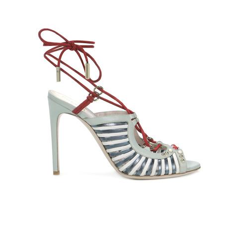 Sandali Anice/bianco/rosso/grigio