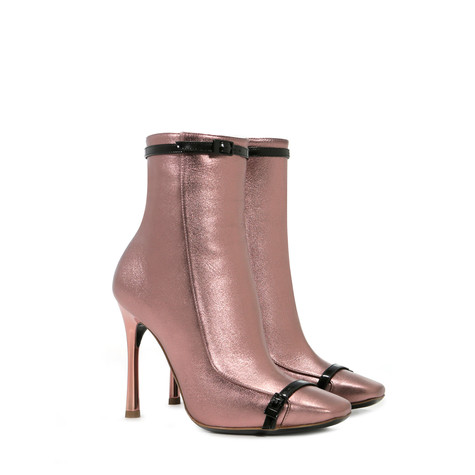 Ankle boots Pink/black
