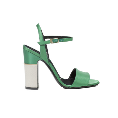 Sandals Green/ivory