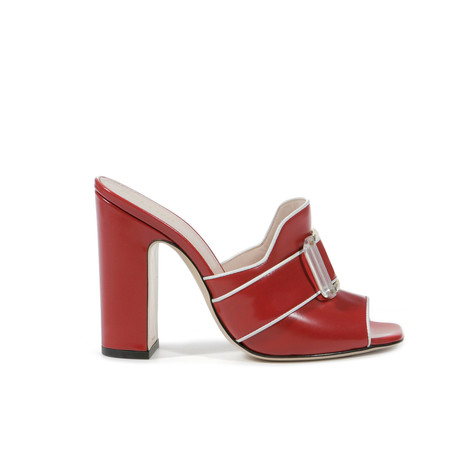 Sandals Red/white