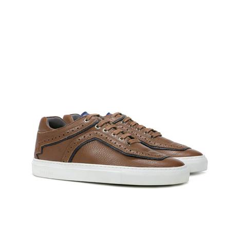 Sneakers Cuoio/blu