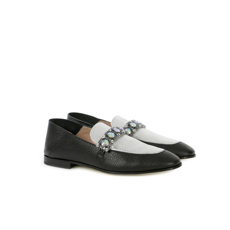 Loafers Black/silver