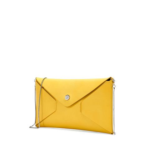 Clutch bag Yellow