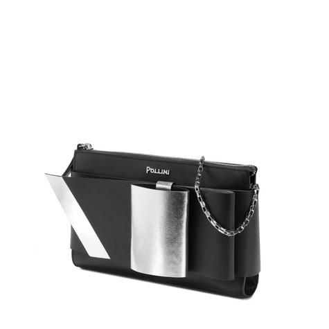 Pochette Nero/argento