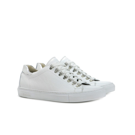 Sneakers Bianco/argento