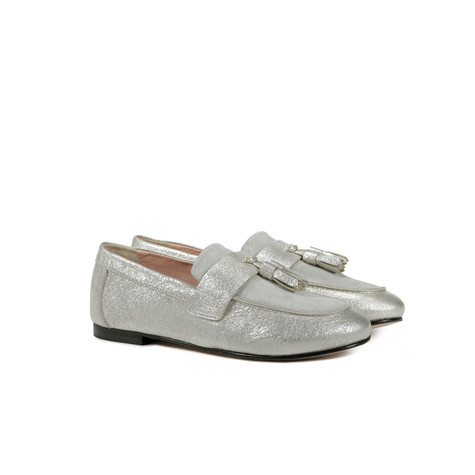 Loafers Silver/stone