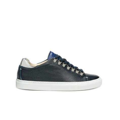 Sneakers Blu/argento