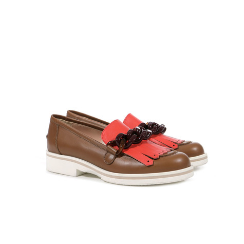 Loafers Hide/coral