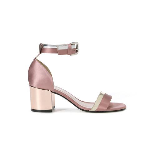 Sandali Cipria/platino/argento/quarzo