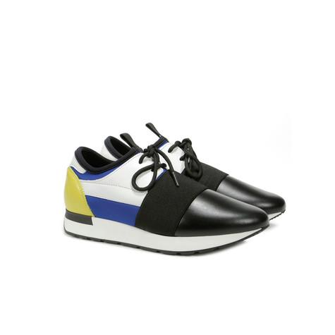Sneakers Bluette/nero/nero/bianco/cedro/nero