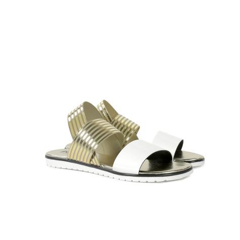 Sandali Bianco/oro