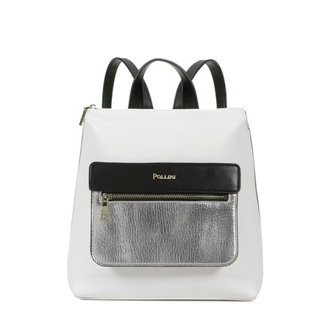 Backpack White/black/nude