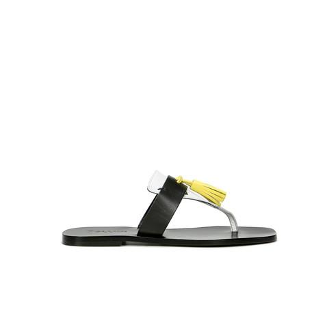 Sandali Nero/cedro/bianco