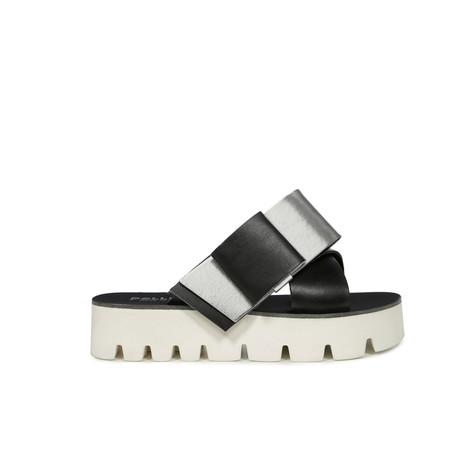 Sandali Nero/argento