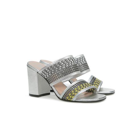 Sandali Pietra-cedro-argento/argento