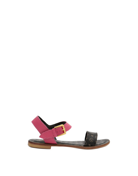 Sandals Black/fuchsia