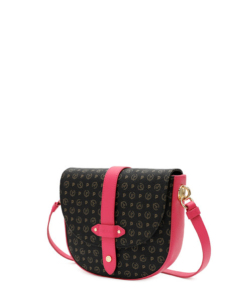 Shoulder bag Black/fuchsia